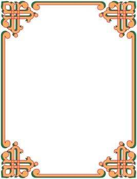free vector Frame Vector Pattern 14