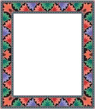 Frame Vector Pattern 18