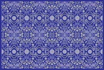 free vector Dot Flower Pattern, Vector EPS Pattern Tutorial Design