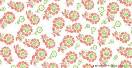 Seamless flower pattern vector 24753