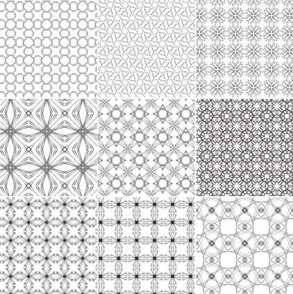10 Seamless Vector Patterns