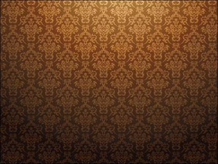 free vector Baroque Pattern