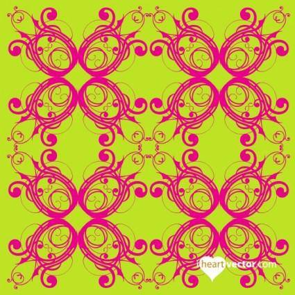 free vector Flourish Pattern Vector