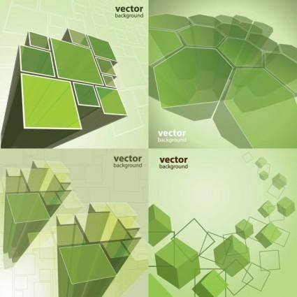 free vector Dynamic effects box vector