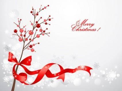Christmas decorative 02 vector