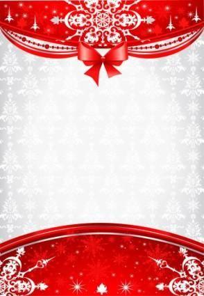 Christmas decorative 01 vector