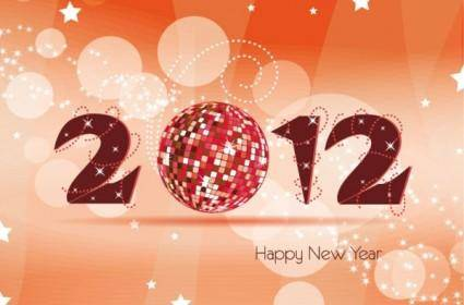2012 christmas font 04 vector