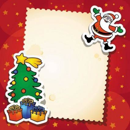 Christmas cards vector 24921