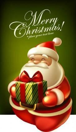 Cute christmas tags 02 vector