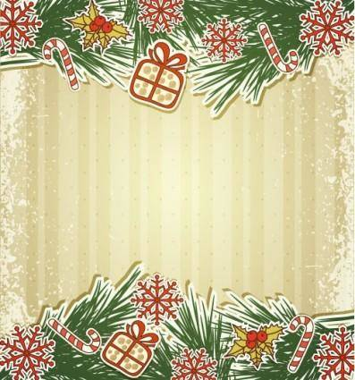 free vector Christmas label 02 vector
