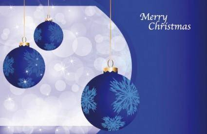free vector Beautiful christmas ball 10 vector