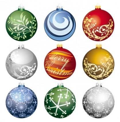 free vector Christmas ball 2 vector