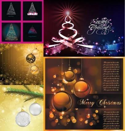free vector Christmas exquisite vector