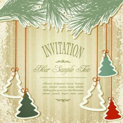 Christmas label 03 vector