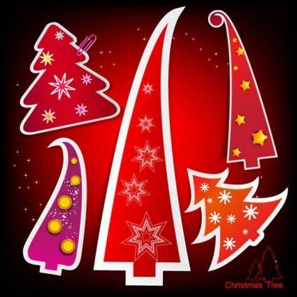 free vector Christmas tag 01 vector