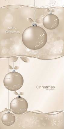free vector Christmas ball vector