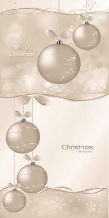 free vector Christmas ball vector