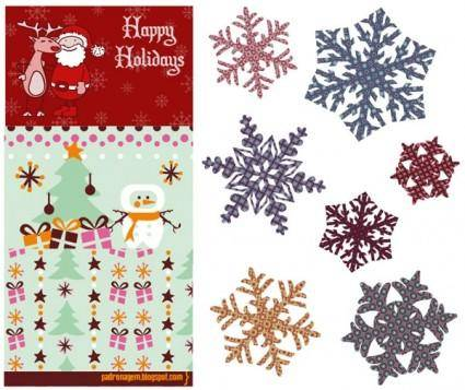 free vector Cute christmas vector