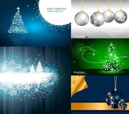 5 christmas vector