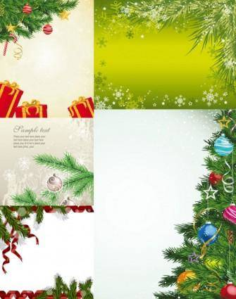 free vector Local christmas tree vector