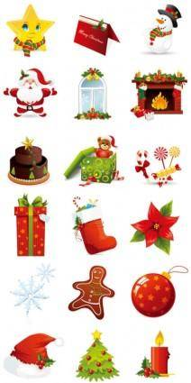 free vector Beautiful christmas ornament vector