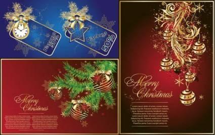 Gorgeous christmas vector
