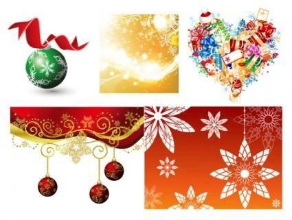 free vector Fun christmas element vector