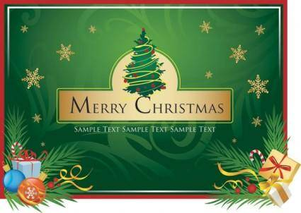 free vector Merry christmas clip art