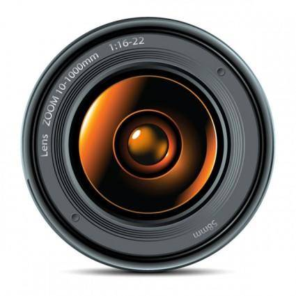 free vector Camera lens 01 vector