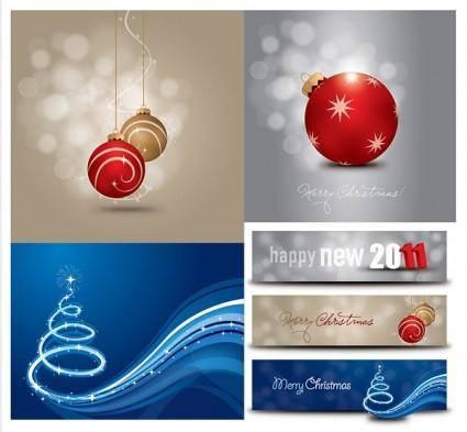 2011 christmas vector