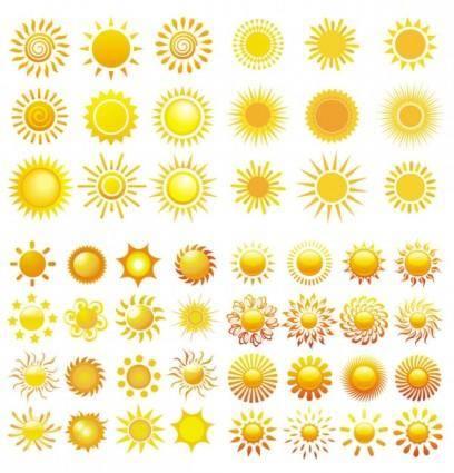 free vector Sun vector