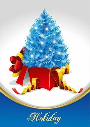 free vector Christmas Tree and Gifts Vector