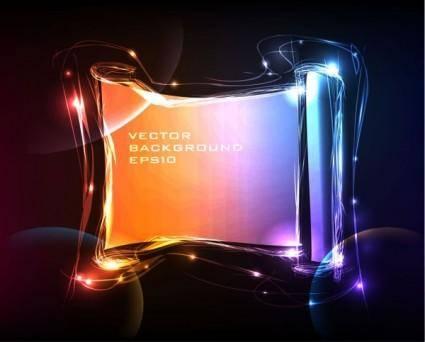 free vector Brilliant neon effects 02 vector