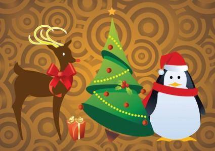 free vector Free Christmas Character Vectors