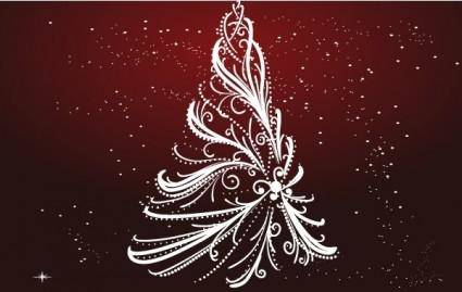 free vector Free christmas tree