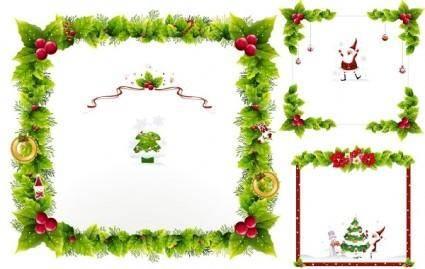 free vector Christmas ornaments