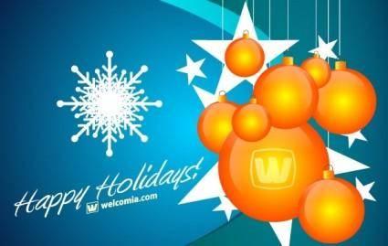 free vector Free Christmas Vector Design
