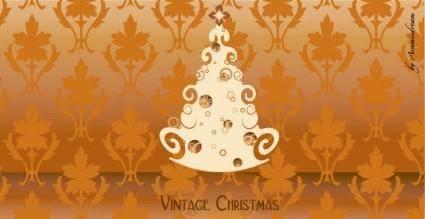 free vector Vintage christmas free vector