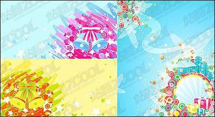 2008 Christmas vector material-3