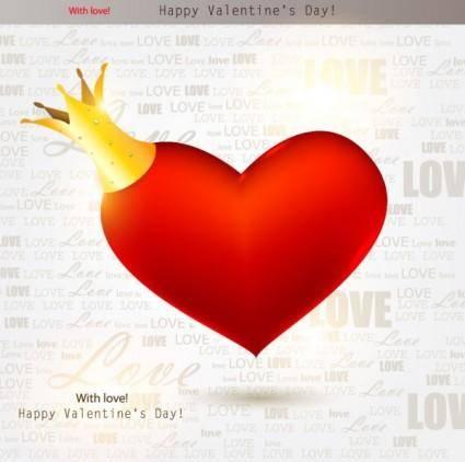 free vector Valentine39s day decorative elements 02 vector