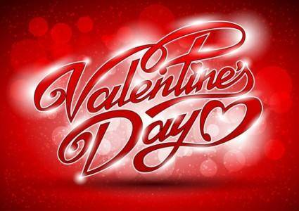 Fancy valentine39s day greeting card 01 vector