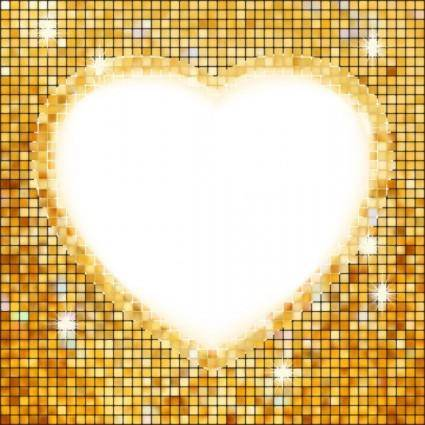 free vector Heartshaped border 03 vector