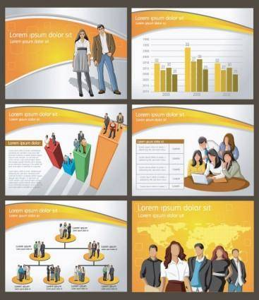 free vector Commercial posters 01 vector