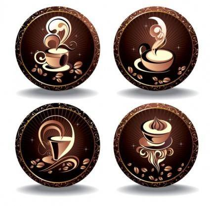free vector Fine coffee element 05 vector