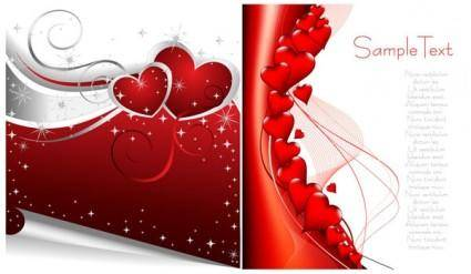 free vector Valentine day vector elements