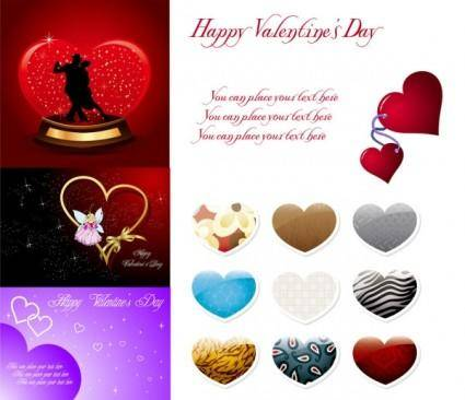 2010 valentine day vector