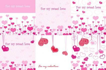 Another on sweetheart romantic element vector