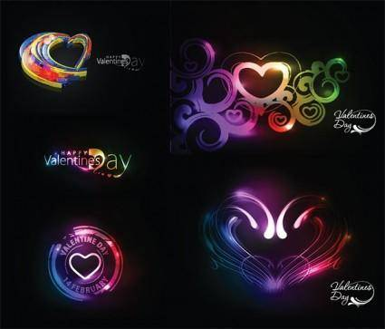 free vector Symphony of love valentine day vector