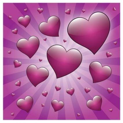 free vector Free Valentine Heart with Rays Vector Graphic
