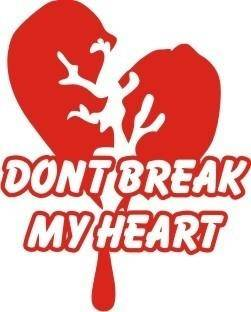 free vector Broken heart